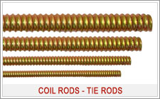 tie rods coil rods construction coil rods india