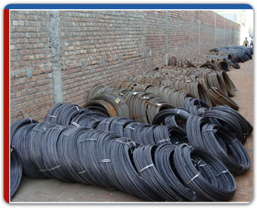 steel wire rolls india