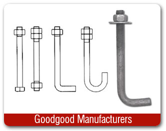 Anchor Bolts, J-Bolts, L-Bolt, Bent Anchor Bolts exporters